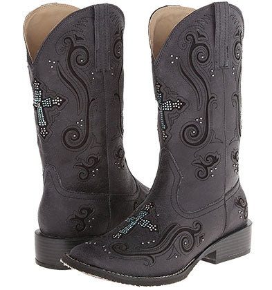 Roper Crossed Out Boot
