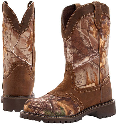 Justin Camo Boots