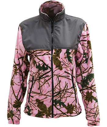 TrailCrest Pink Camo Jacket