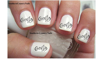 Country Girl Nail Decal