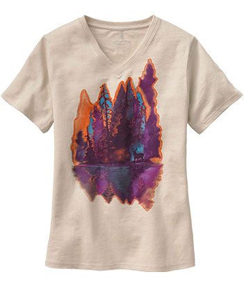 Painted Forest Tee