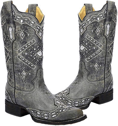 Corral Square Toe Boot