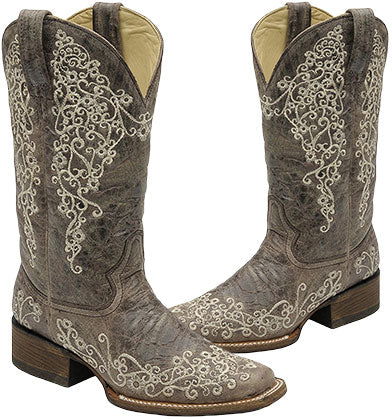 Corral Square Toe Boots
