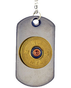 Shotgun Shell Dog Tag