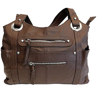 Brown Concealment Purse