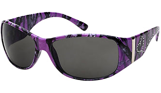 Purple Camo Sunglasses
