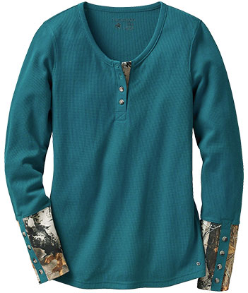 Legendary Whitetails Henley