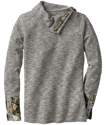 LW Button-Neck Thermal