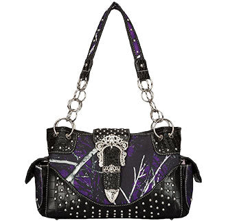 Moonshine Purple Purse