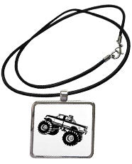 Truck Necklace