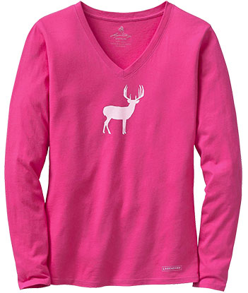 Fuchsia Deer Top