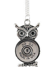 Owl Shell Necklace