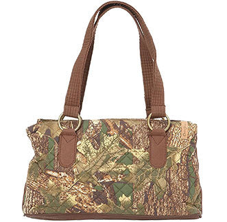 Quilted Camo Purse