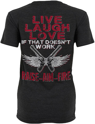 Raise Aim Fire Shirt