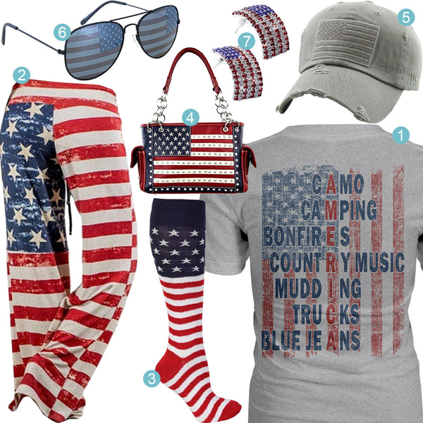American Flag Outfit