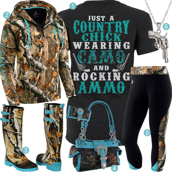 Camo & Ammo Outfit