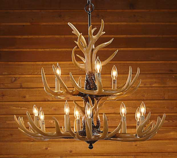 10 replica antler chandeliers real country ladies faux deer antler chandelier aloadofball Images