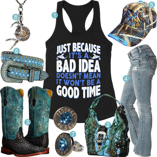 Bad Idea Tank Outfit