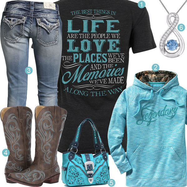 Best Things In Life Outfit
