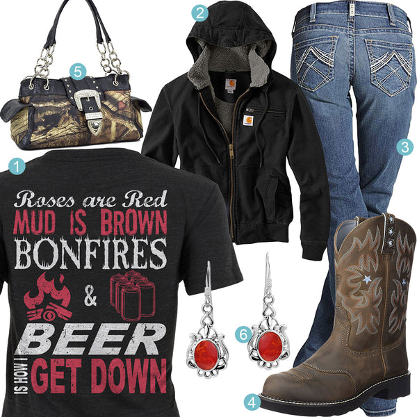 Bonfires & Beer Outfit