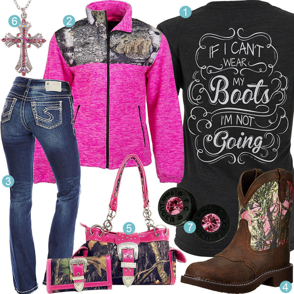Wear My Boots Outfit