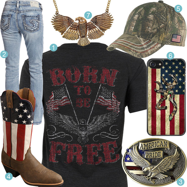 Born to be Free Outfit