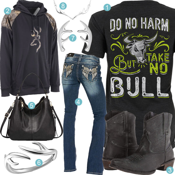 Take No Bull Outfit