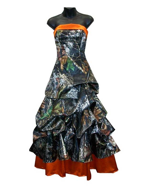 10 Prom or Bridal Camo Dresses - Real Country Ladies