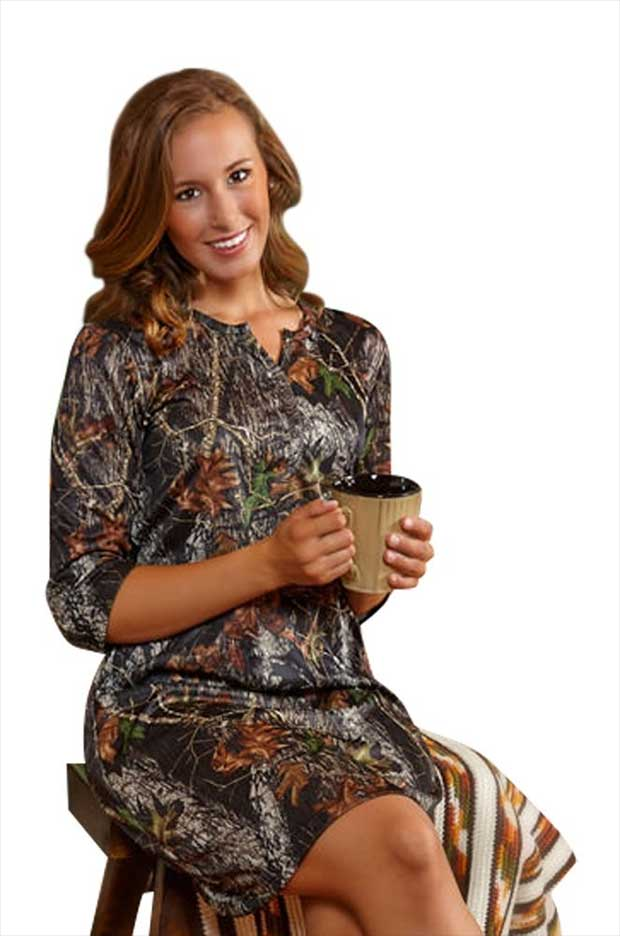 1d69f4d9ec95a 10 Camo Nightgowns for Sleeping in Style - Real Country Ladies