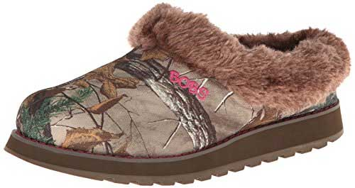 Country Chic Camo Slippers