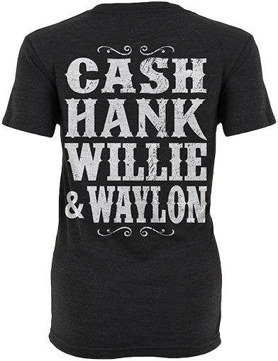 Cash Hank Willie & Waylon Shirt