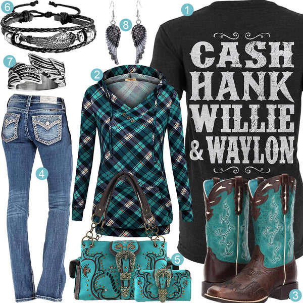 Cash, Hank, Willie & Waylon Outfit