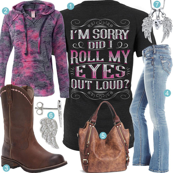 Roll My Eyes Outfit