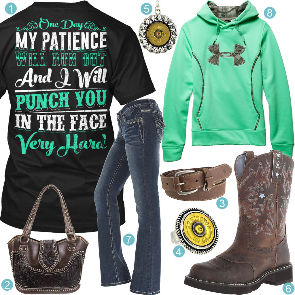Patience Will Run Out Outfit