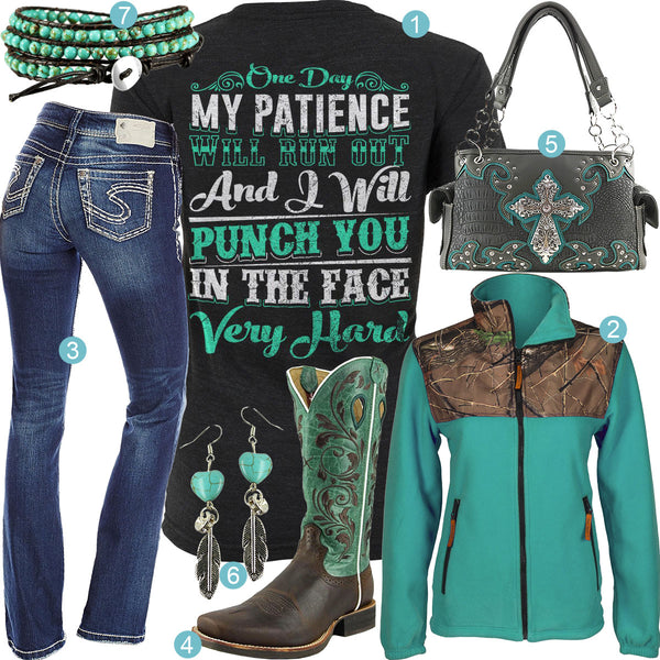 Punch You in the Face Outfit