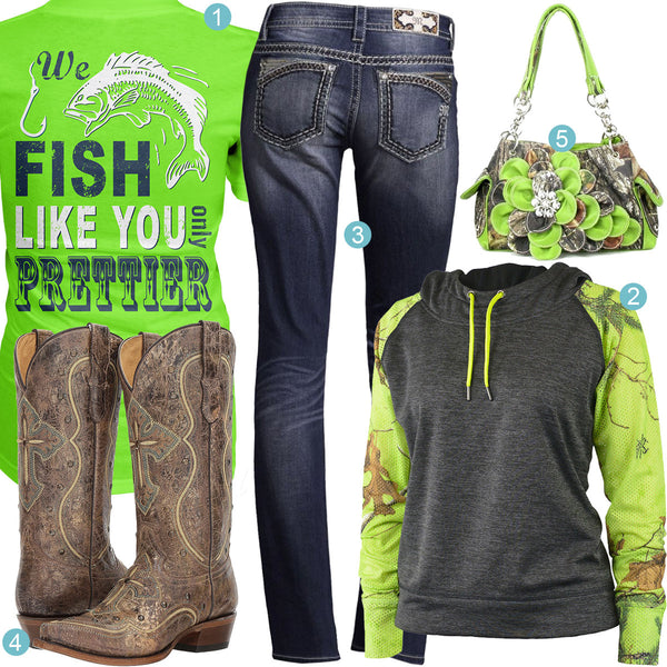 Fish Lime Outfit