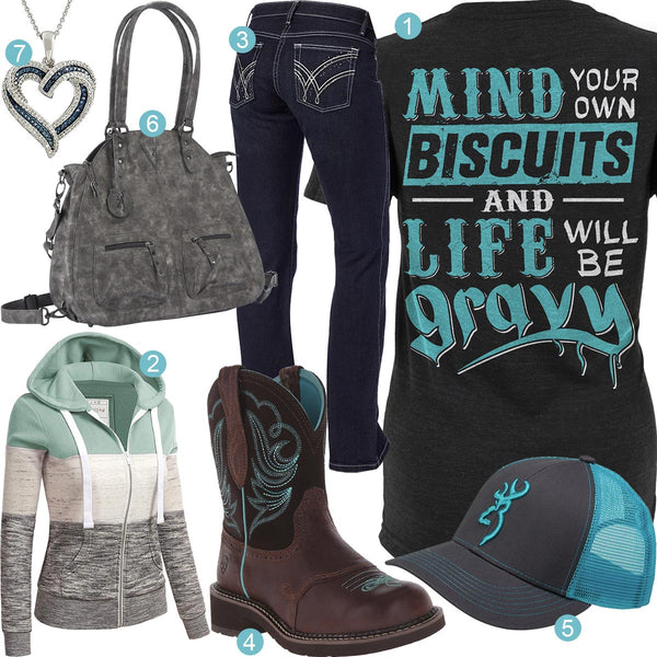 Mind Your Own Biscuits Outfit