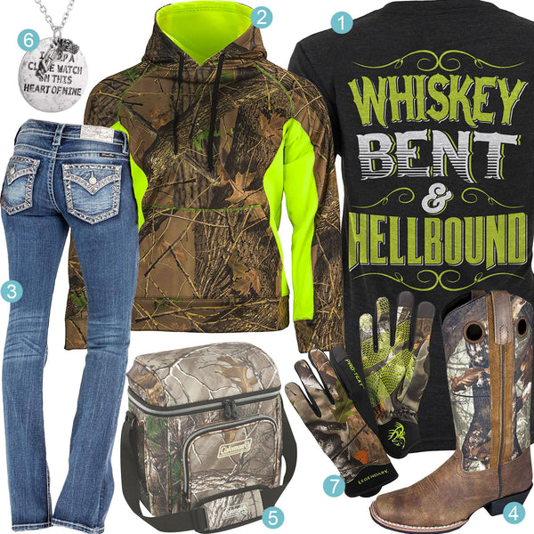 Whiskey Bent & Hellbound Outfit