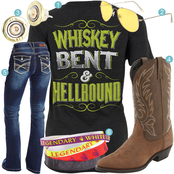 Whiskey Bent Hellbound Outfit