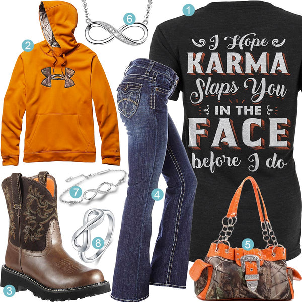 Karma Slaps You Outfit
