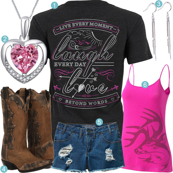 Live Laugh Love Outfit