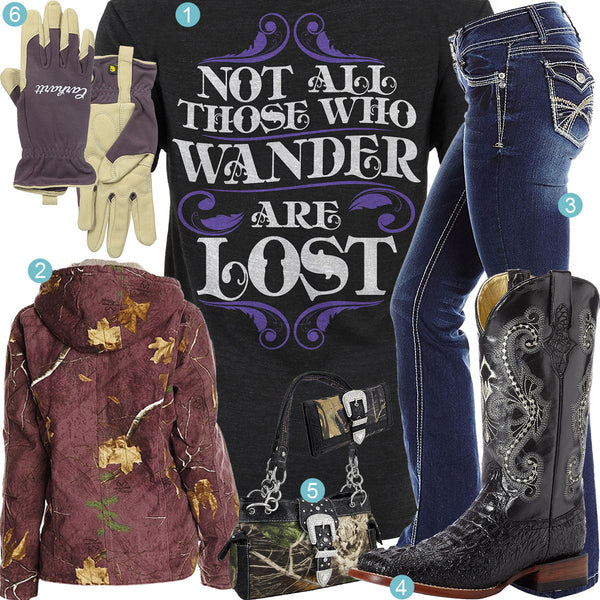 Those Who Wander Outfit