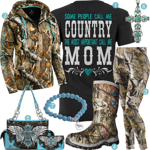 Country Mom Outfit