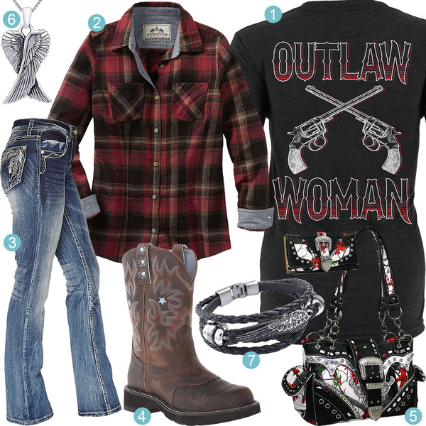 Outlaw Woman Outfit