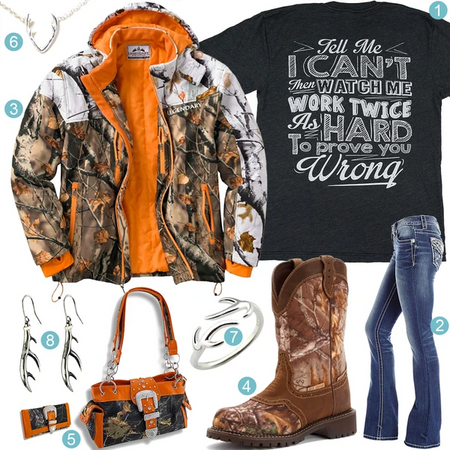 Legendary Whitetails Camo Jacket Outfit