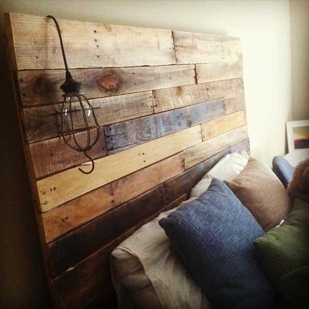 Each Handmade Pallet Headboard Is Made To Order Per Your Exact Specifications Including Height Width And Finish So You Are Absolutely Certain Get The