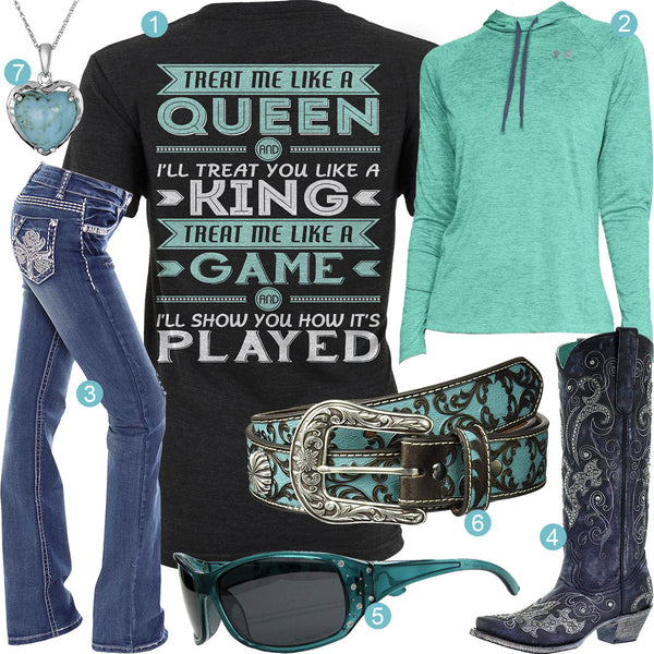 Like A Queen Outfit