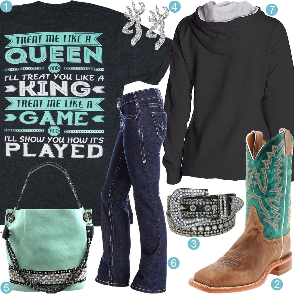 Treat Me Like A Queen Outfit