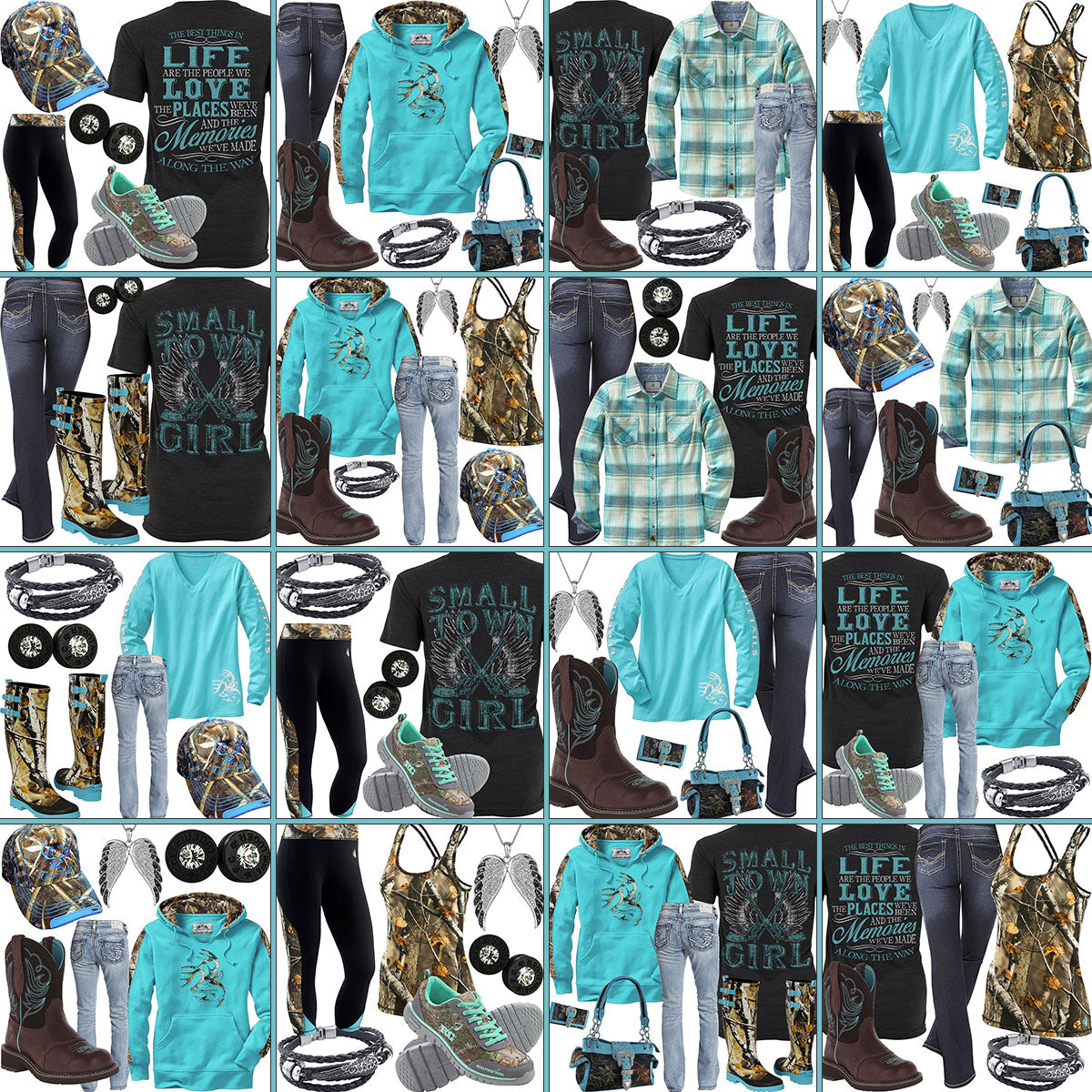 16 Outfits Grid