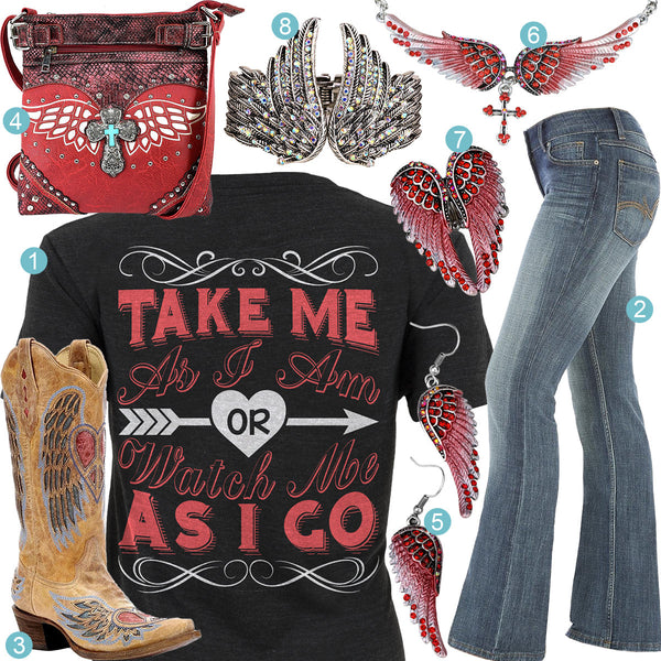 Take Me As I Am Outfit